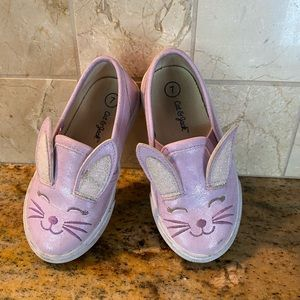 Cat and Jack bunny shoes